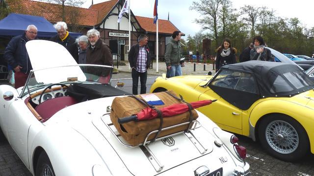 Oldtimers verzamelen weer bij Valkenburgs Meer