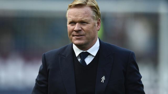 Koeman 'heel tevreden' over winterse transferperiode Everton