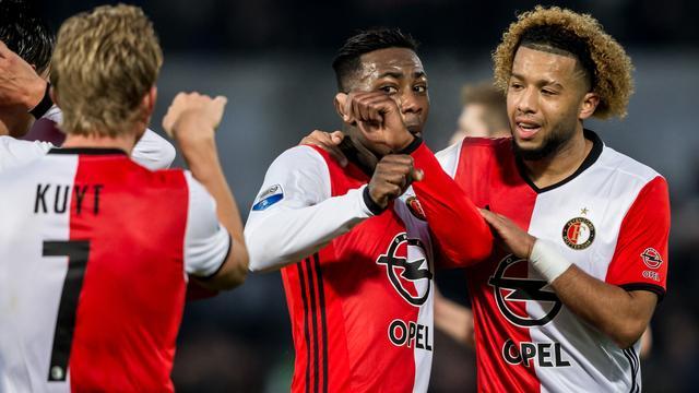 Koploper Feyenoord kent in De Kuip weinig problemen met NEC