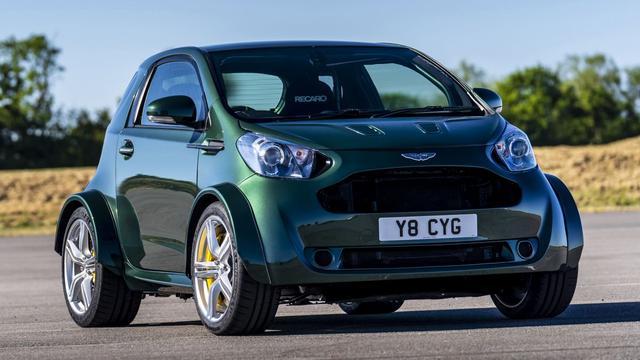 Aston Martin bouwt Cygnet met V8-motor