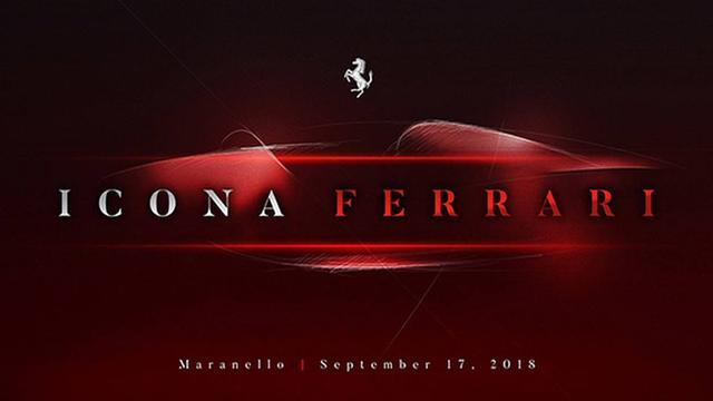 Ferrari kondigt onthulling nieuw model aan
