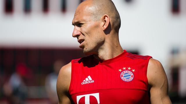 Robben reist wegens spierproblemen niet mee met Bayern naar China