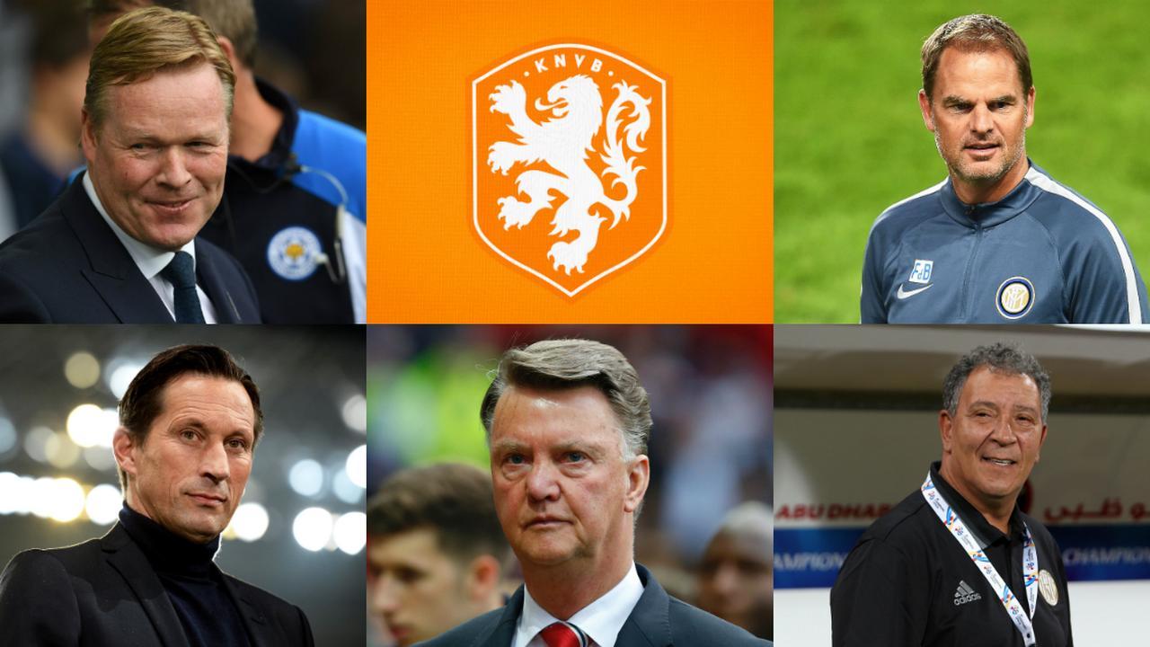 Vijf toptrainers die het bondscoachschap van Oranje weigeren