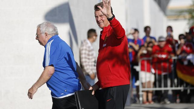 Van Gaal blijft bij voornemen om in 2017 met pensioen te gaan
