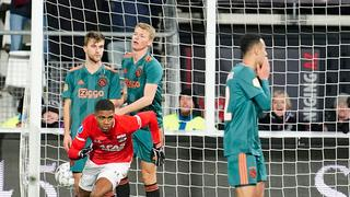 AZ in slotfase langs Ajax: 'Wind speelde rol bij goal Boadu'