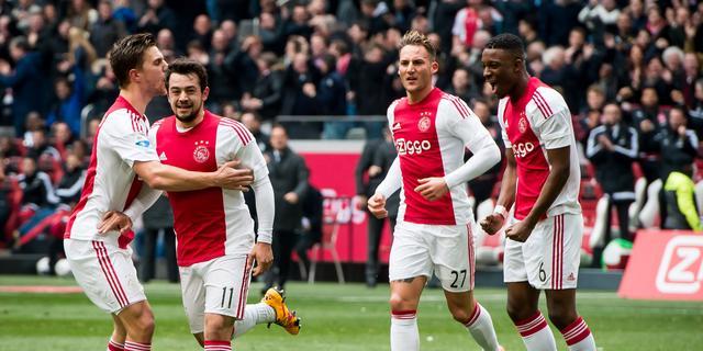 Ajax boekt nipte zege op Feyenoord in Klassieker