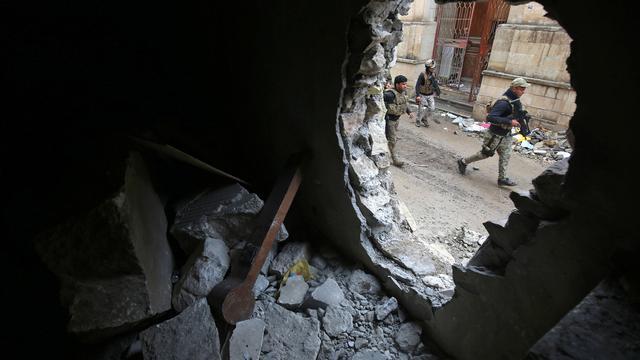 Veel burgerdoden na Amerikaans bombardement op Mosul