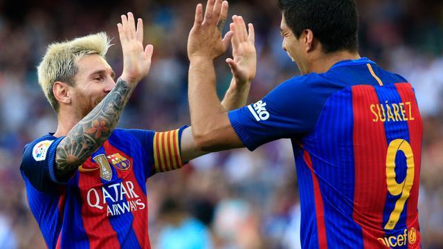 Barcelona verslaat Betis met 6-2, goede start Strootman met Roma