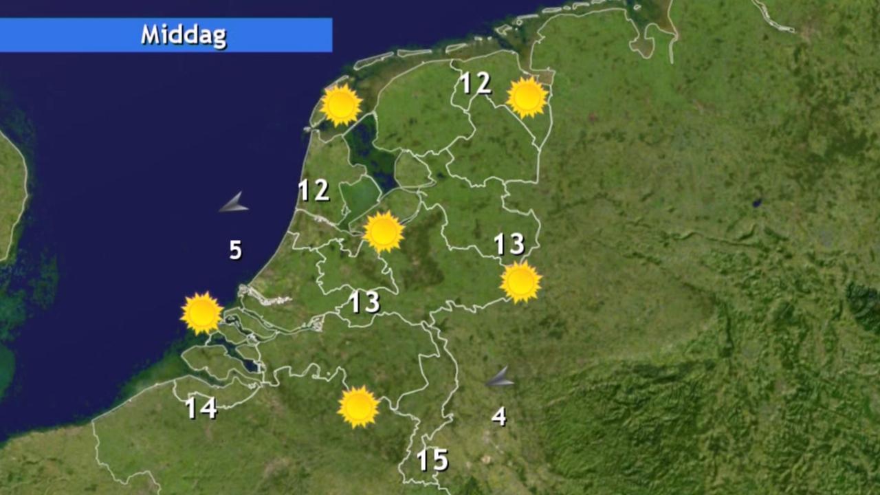 Weerplaza.nl: Zon en stapelwolken