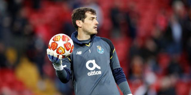 Trainer Conceição: 'Casillas kan rekenen op de steun van heel FC Porto'