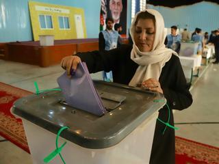 Afghanistan kiest voor eerst in acht jaar nieuw parlement