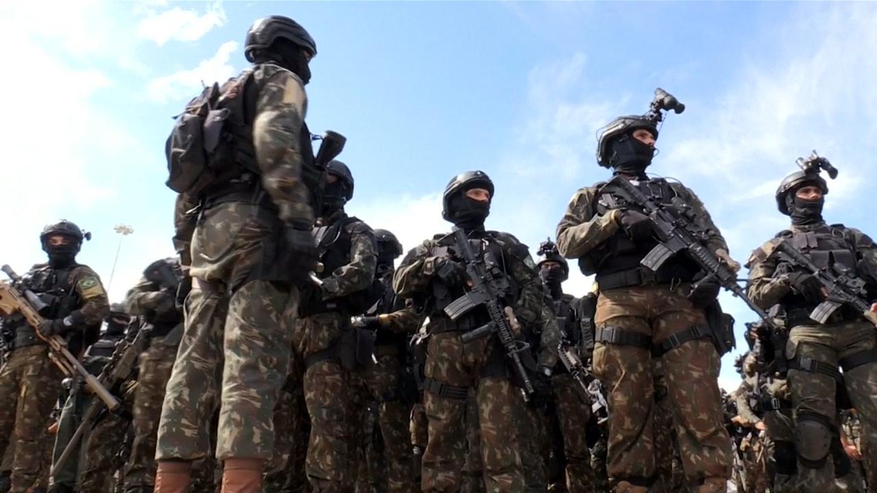Brazilië werkt aan grote veiligheidsoperatie voor inauguratie Bolsonaro
