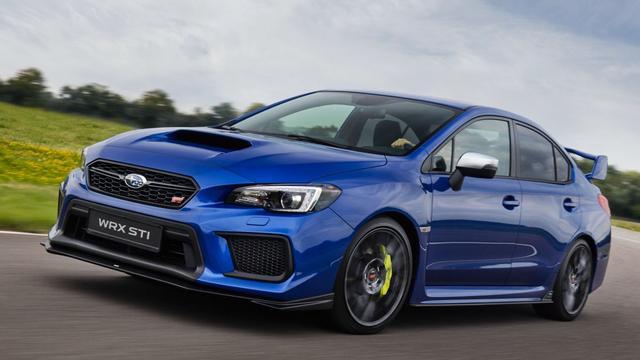 Net geen 100.000 euro voor laatste Subaru WRX STI