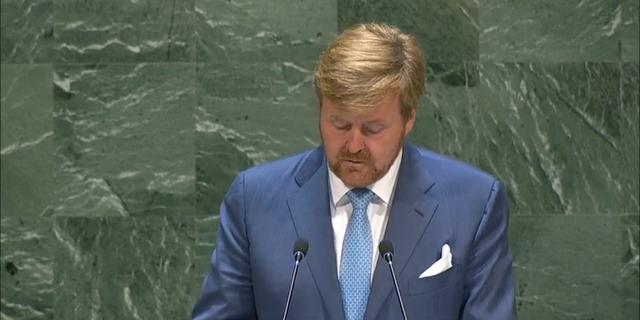 Koning Willem-Alexander spreekt met onderzoeksteam MH17