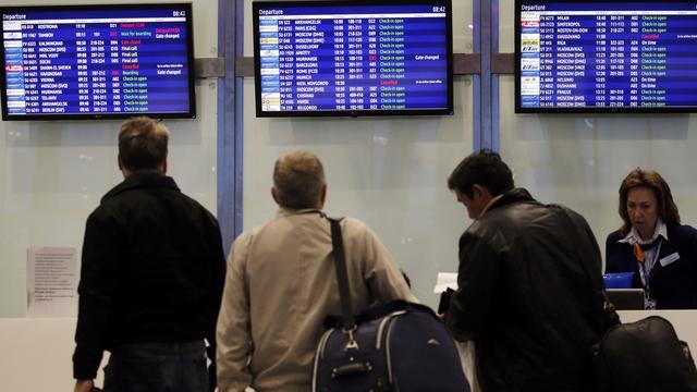 Bijna 80.000 Russische toeristen vast in Egypte