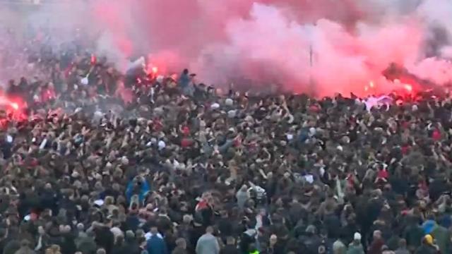 Halsema: 'Entrada's voortaan alleen op Arenapark en zonder vuurwerk'