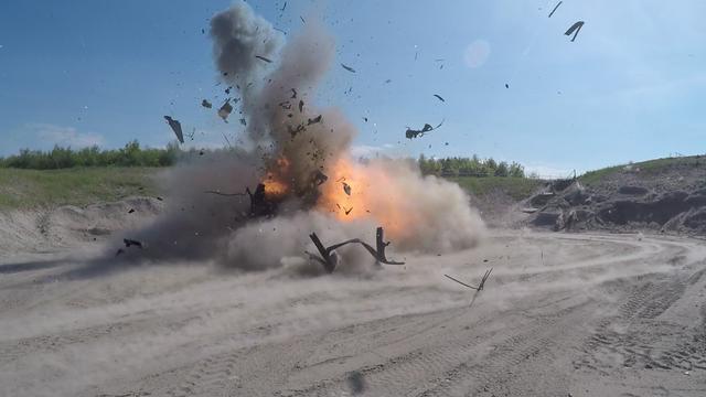 Explosief onder auto Martin Kok was extreem krachtig