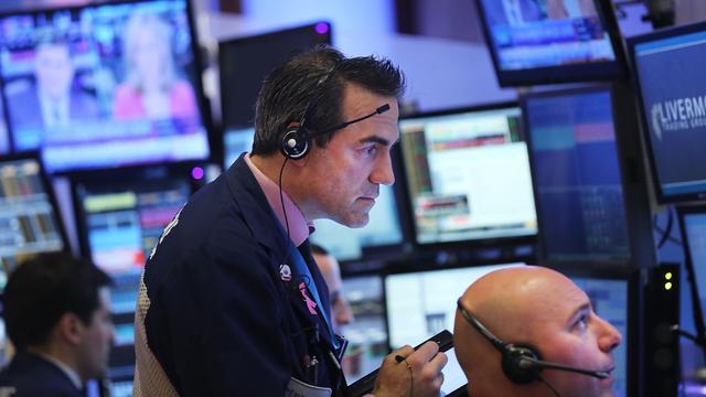 Beleggers Wall Street schrikken van inflatiecijfer VS