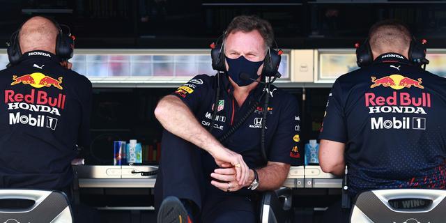 Teleurgestelde Red Bull-teambaas Horner legt zich neer bij gridstraf Verstappen