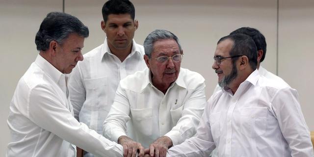 'FARC koopt geen wapens en munitie meer'