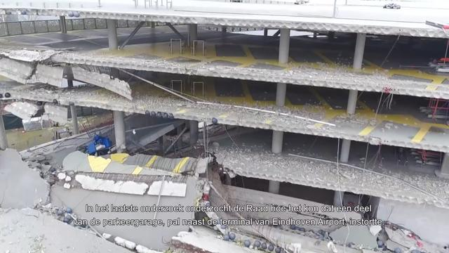 Conclusies van OVV na instorten parkeergarage in Eindhoven