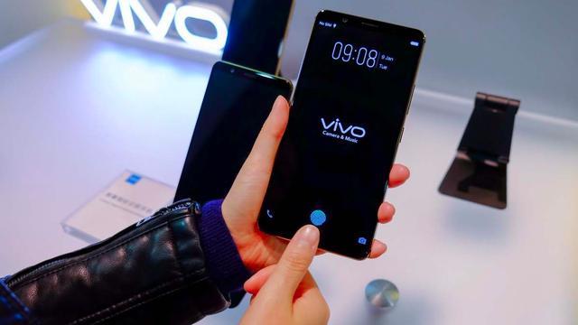Vivo presenteert telefoon met vingerafdrukscanner in scherm