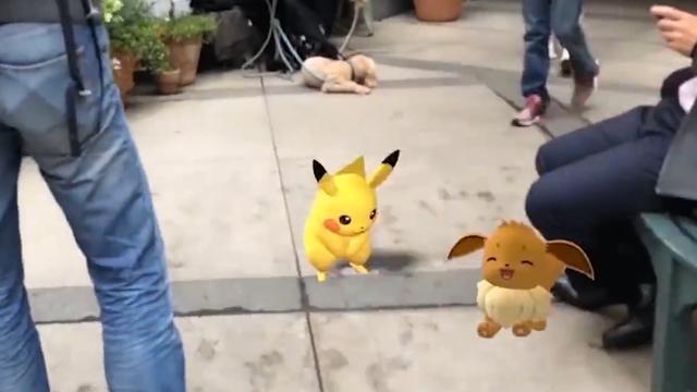 Niantic demonstreert Pokémon die reageren op objecten in de echte wereld