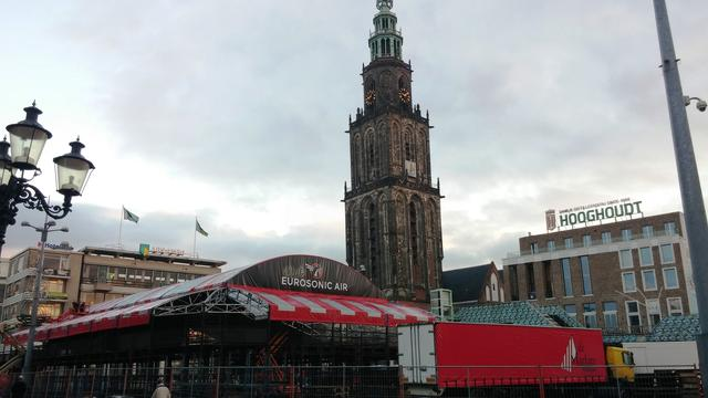 Slaapschepen voor bezoekers en artiesten Eurosonic