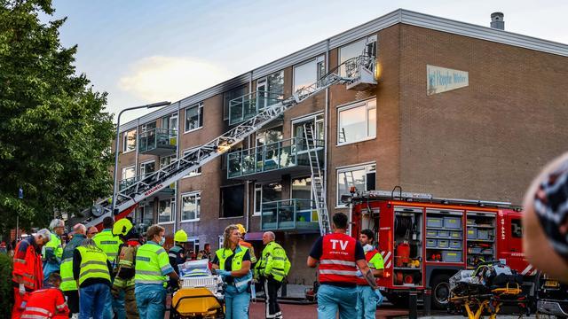 Eerste bewoners van door explosie getroffen flat in Vlissingen weer terug