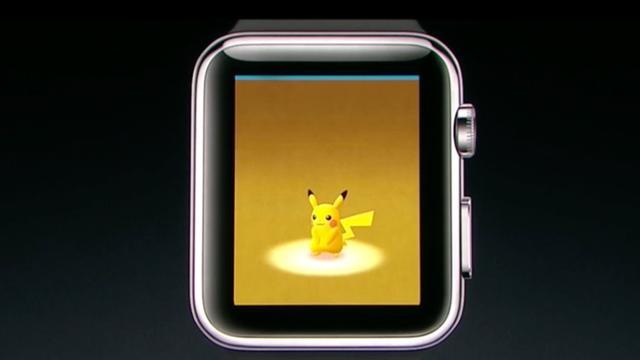 Pokémon Go speelbaar op de Apple Watch na update