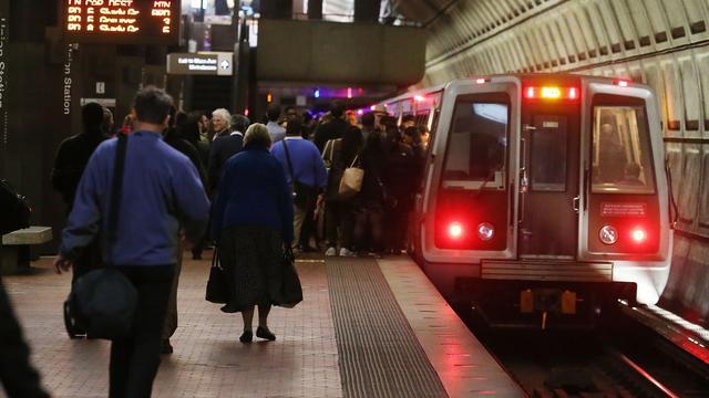 Washington moet het 29 uur zonder metro doen
