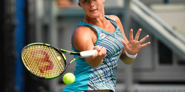 Bertens bij rentree op WTA-tour direct in eerste ronde ten onder