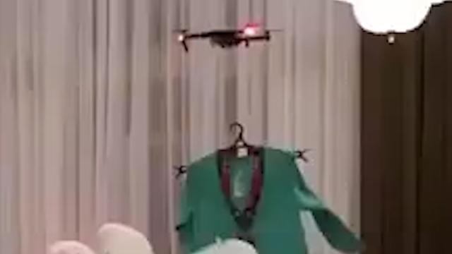 Drone vervangt model in Saudi-Arabië tijdens Ramadan