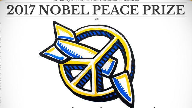 Nobelprijs voor de Vrede toegekend aan organisatie tegen kernwapens