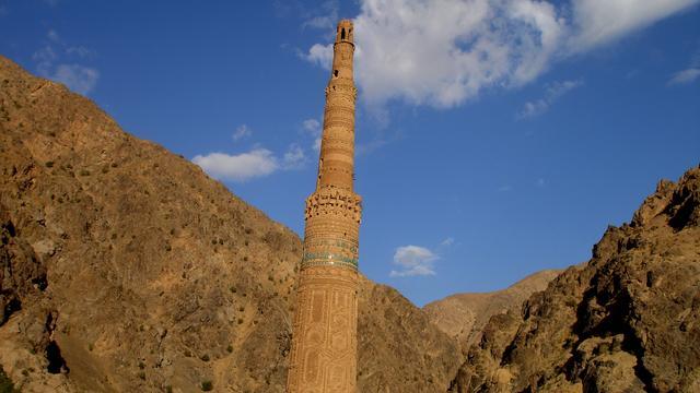 Beroemde minaret in Afghanistan bedreigd door overstromingen