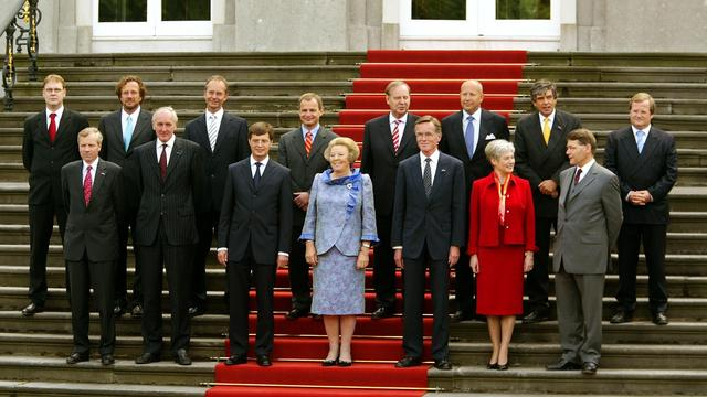 Kabinet-Balkenende 1