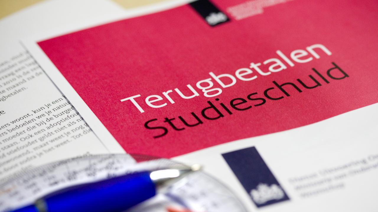 Gezamenlijke studieschuld gestegen naar 11,2 miljard euro