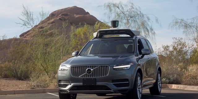 Uber moet kiezen: software zelfrijdende auto aanpassen of Waymo-deal