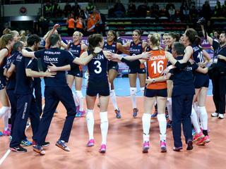 Oranje treft Italië in halve finales OKT