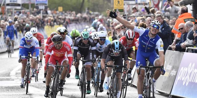 Kittel pakt vijfde zege in Scheldeprijs bij laatste Belgische koers Boonen