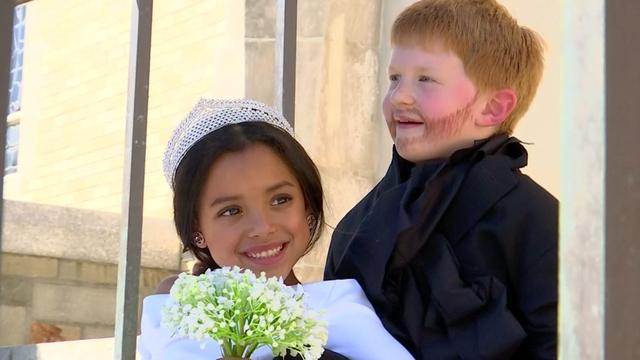 Fotograaf in VS doet 'Royal Wedding' na met kinderen