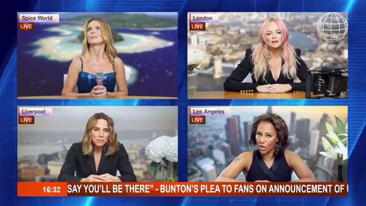 Spice Girls kondigen reünietournee aan zonder Victoria Beckham