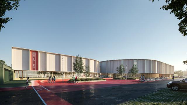 Ontwerp van nieuwe sportcomplexen in Leiden klaar voor aanbesteding