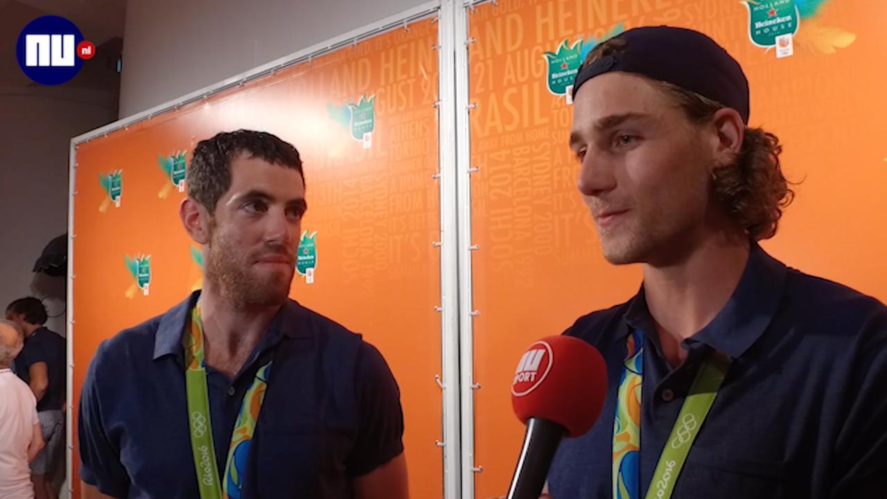 Holland acht viert brons met vrienden en familie