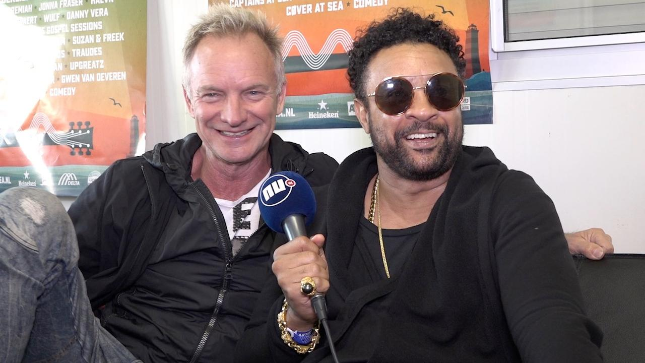 Sting leert grove Jamaicaanse woorden van Shaggy