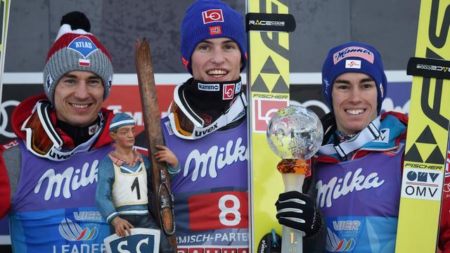Noor Daniel-André Tande wint schansspringen in Garmisch-Partenkirchen
