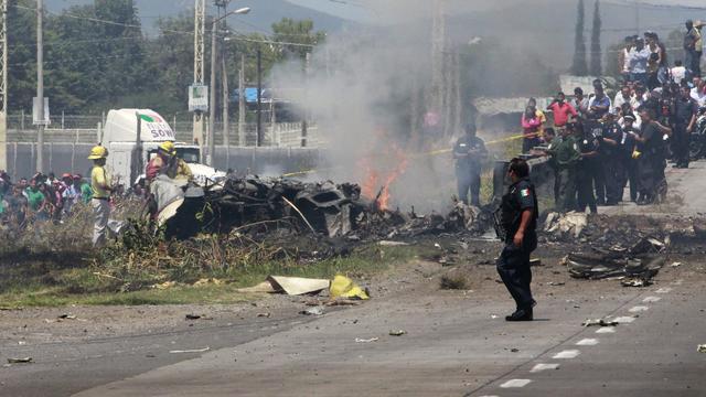 Doden bij vliegtuigongeluk Mexico