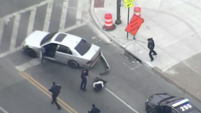 Auto in VS rijdt door na arrestatie bestuurder
