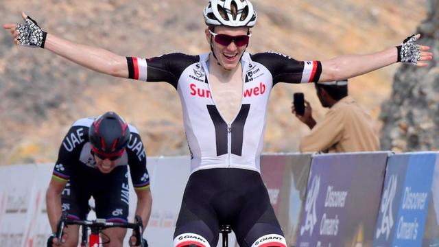 Jonge Deen Andersen bezorgt Team Sunweb zege in derde rit Oman