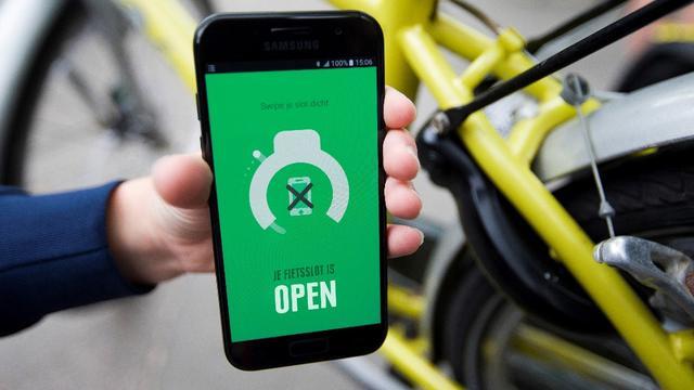 KPN ontwikkelt slim fietsslot dat smartphone vergrendelt